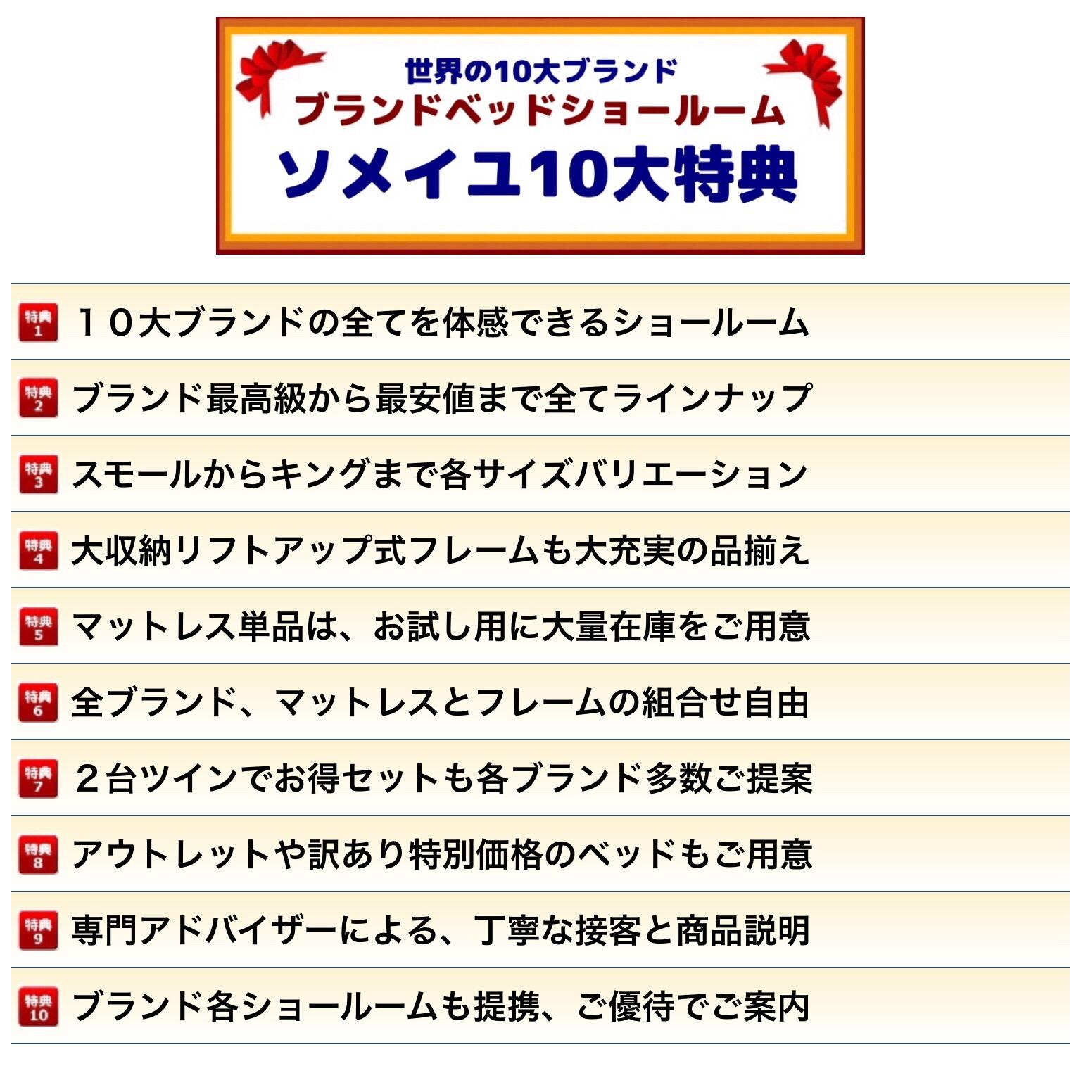 ソメイユ東京10大メリット